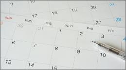 無料の建物診断のスケジュール調整