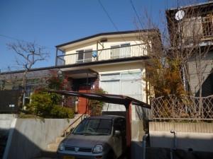 姫路市 雨漏り箇所を修繕し、塗装工事へ。