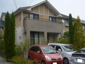 姫路市 こだわりのグラデーション仕上げ塗装。屋根に使用したのは、マルーン色!!!!