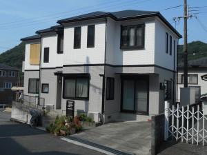 長持ち・スマートな印象(フッ素塗装)+屋根カバー工法で、さらに長期的な住環境へ