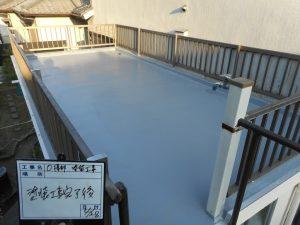 倉庫の屋上の防水工事
