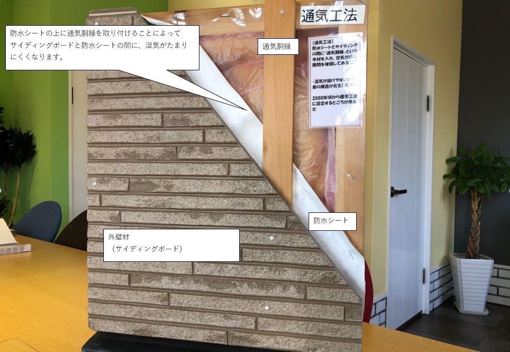 あなたのお家の外壁は直貼り?それとも通気工法?