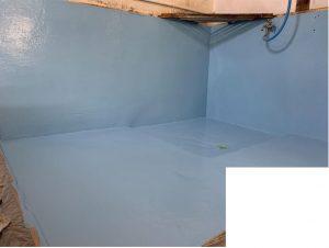 たつの市 滑ることを防ぐ床塗装工事。快適な環境へ変身した地場産業の素麵屋さん