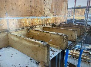 明石市 ベランダ防水工事と外壁塗装工事で発見‥まさかの白アリ被害!