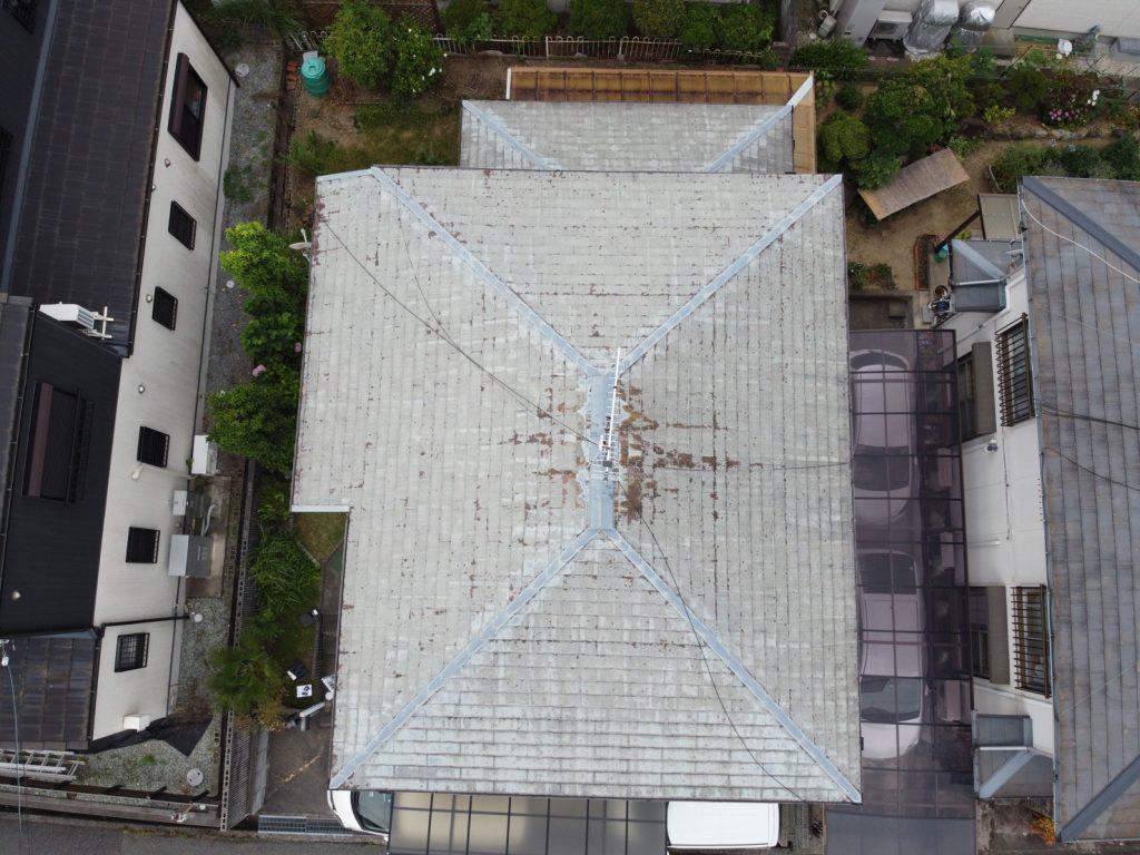 三木市 屋根ドローン空撮調査!屋根葺き替え工事でさらに安心して過ごせるお家に
