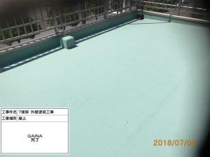 姫路市 遮熱塗料GAINAを屋上・屋根・外壁に塗装し、徹底的な暑さ対策