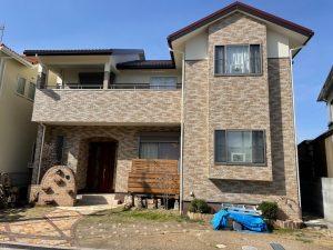 加古川 屋根の色をおしゃれな赤茶に塗り替え!高級感あふれる仕上がり