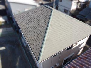 屋根塗装前姫路
