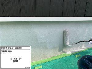 三木市 シックな黒橡色の外壁に木目調を再現した個性あふれる外壁塗装&屋根漆喰補修