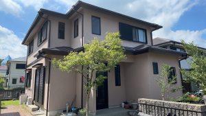三木市 天窓や太陽光パネルのある屋根の下地強化と遮熱フッ素塗装