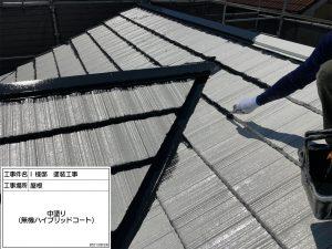 神崎郡 軒天井の張替え、外壁ひび割れやハガレ、屋根コケ汚れを解決への塗装工事