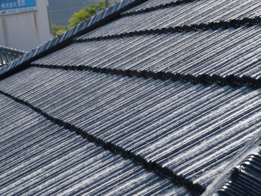 【姫路市・屋根外壁工事から1年点検】気になる屋根を重点的にアフターサービス点検